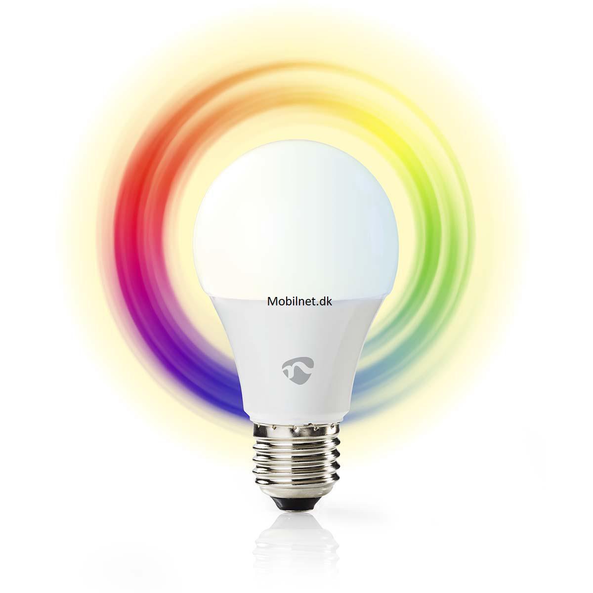 Opdateret WiFi Smart LED-lampe | Fuld farve og varm hvid - EL Vare 220 volt VH17