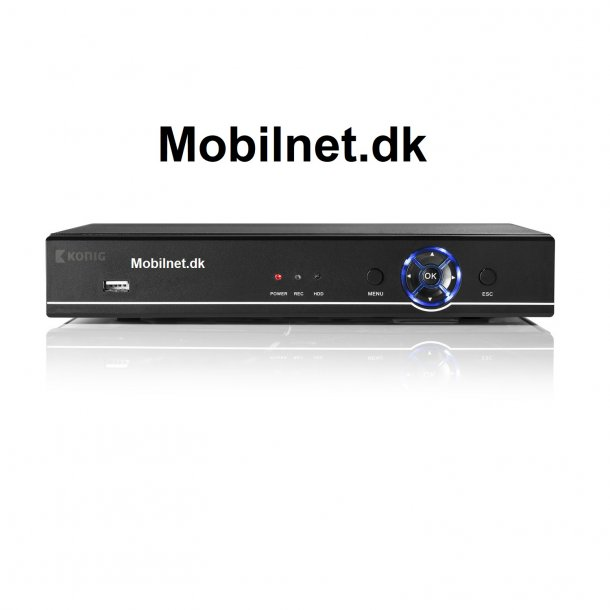 Kønig 8 - Digital Video Optager HDD 1 TB