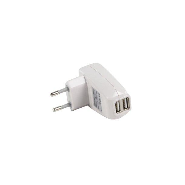 USB lader til 220 v dobbel stik