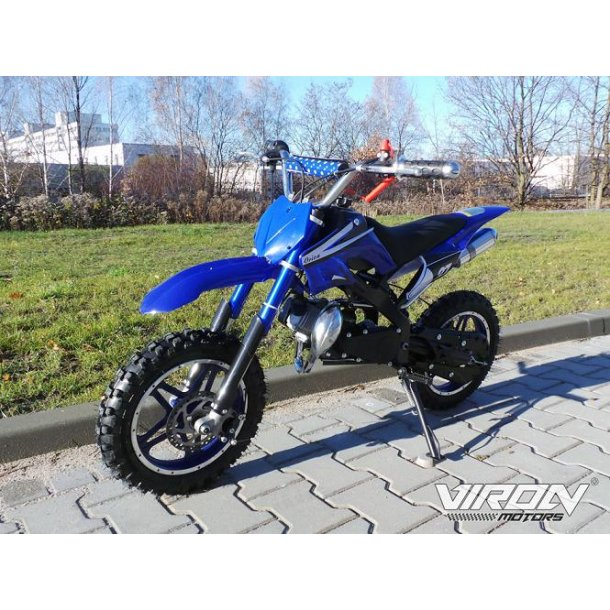 Dirtbike 49cc Blå..