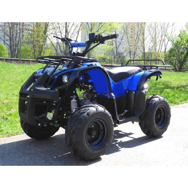 Super fed Hummer 110cc ATV i blå til større børn..