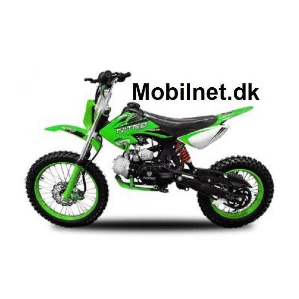 125cc Sport Crosser grøn 17/14