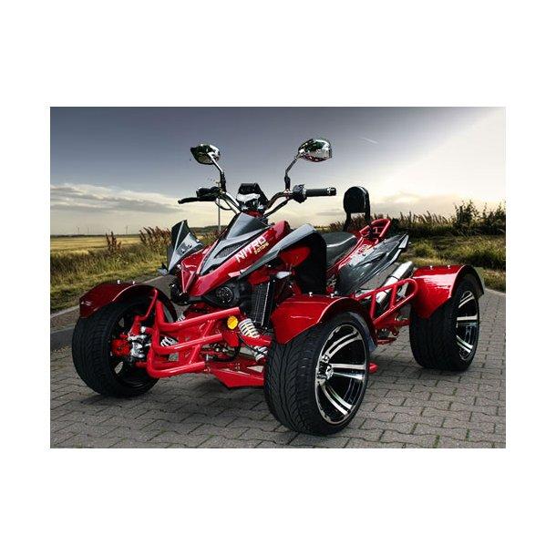 stjerneskud Superfed 300 cc ATV i rød Speedslide
