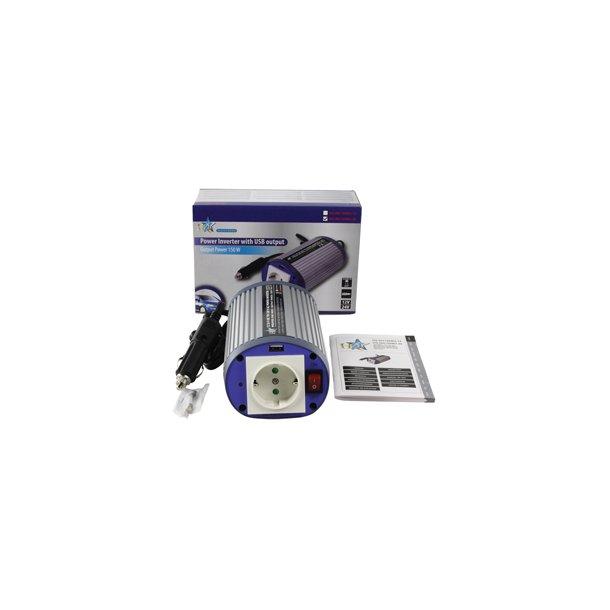 24 - 230V AC 150 watt med usb