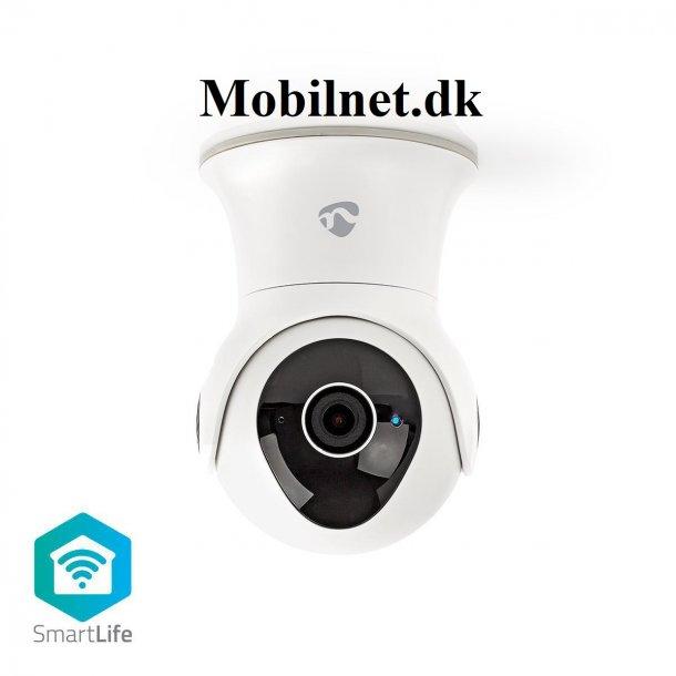 Smart IP-kamera med Wi-Fi med Panorering/vipning i Full HD 1.080p Udendørs Vandtæt