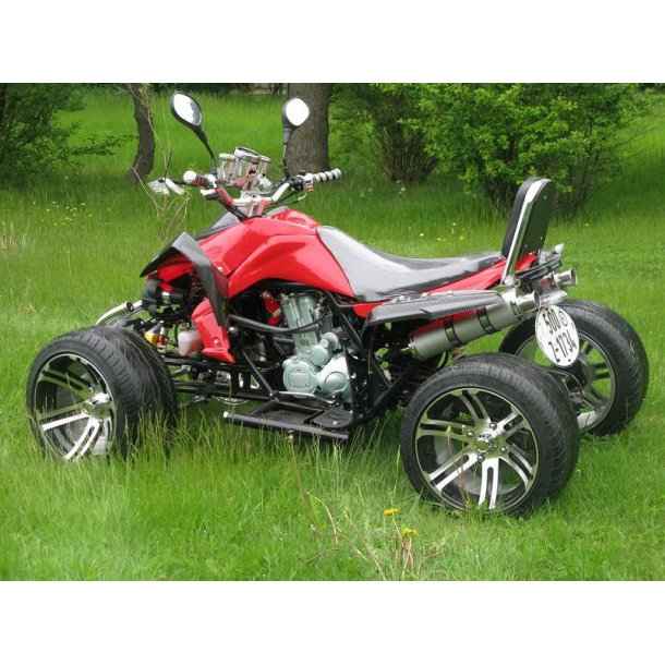 250 cc PREDATOR rød
