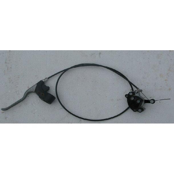 Bremsegreb med kabel og bremse front komplet