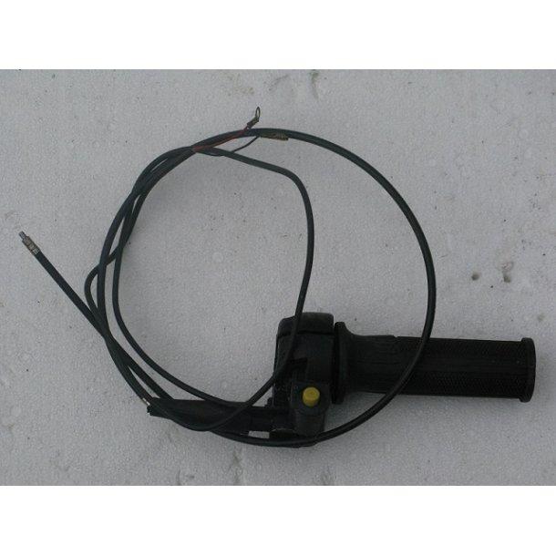 Gashåndtag med kontakt og ledning uden gaskabel..