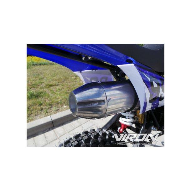 Udstødning crosser 125 cc