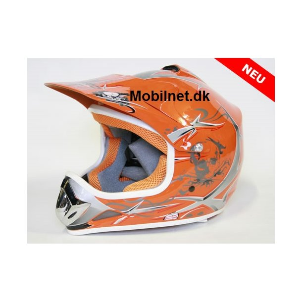 Cross Hjelm Xtreme orange S