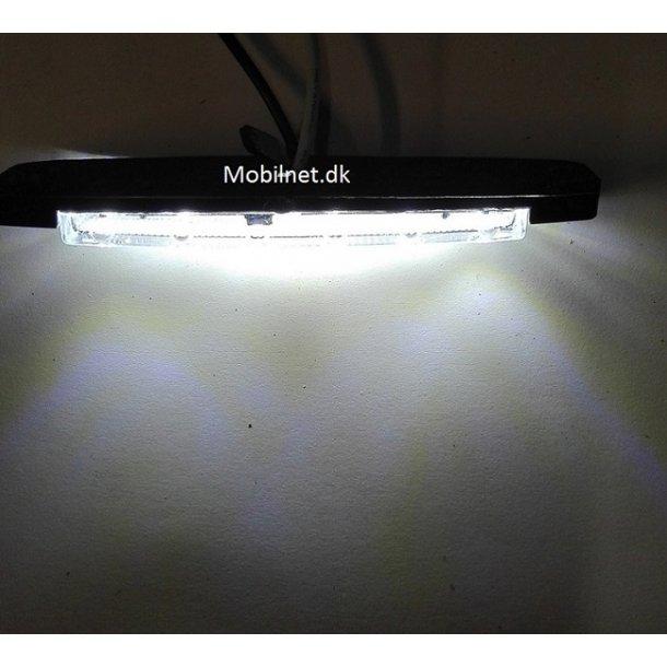 6 LED Hvid. 12Volt  Markeringslygter.