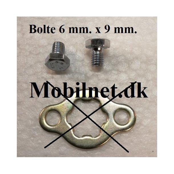 Bolte til Låseblik / låsering 1 sæt = 2 stk.