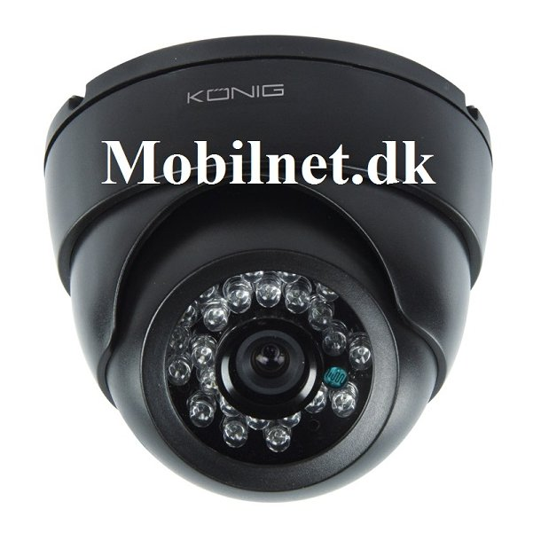 CCTV-kamera med IR-LED- 700 TV-linjer