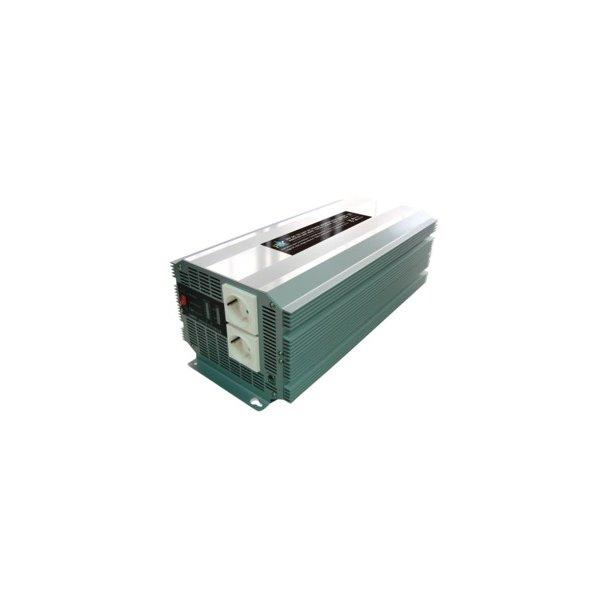 24 volt omformer til 230 volt 2500W max 5000 watt.