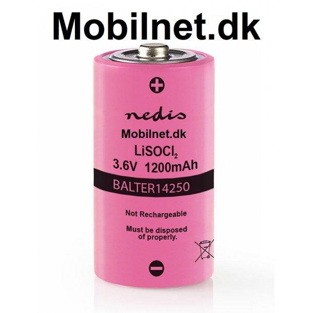 Lithium batteri 1200 mAh til powermax LI3A/790