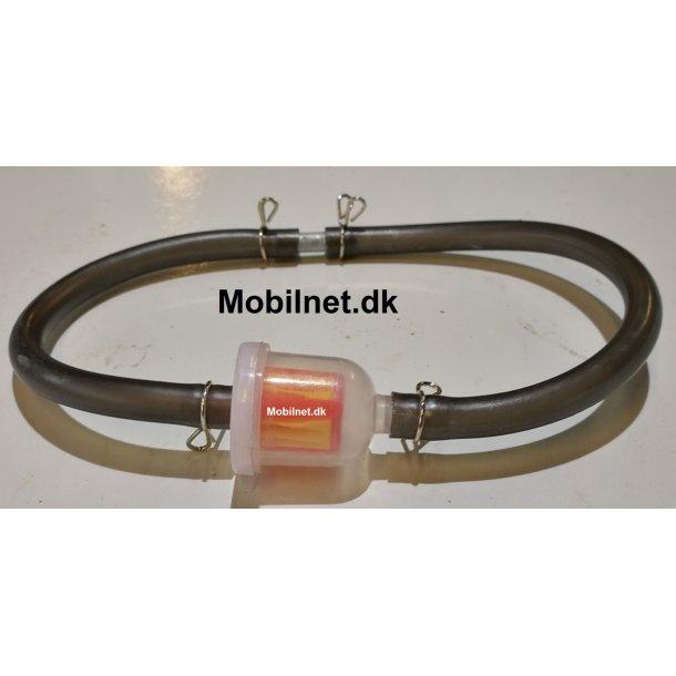 Benzin filter + slange til 49 - 125 cc motor