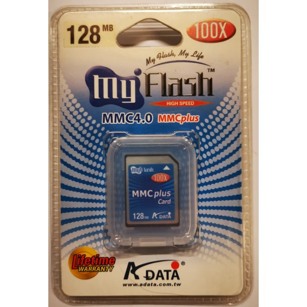 ADATA Memory 128 MB MultiMediaCard x 100