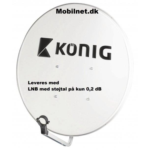 Parabol 60 cm + LNB støjtal på kun 0,2 dB, Kønig Tysk