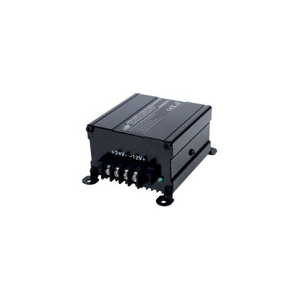 24volt til 12 volt kan klare op t 10 AMP konstant