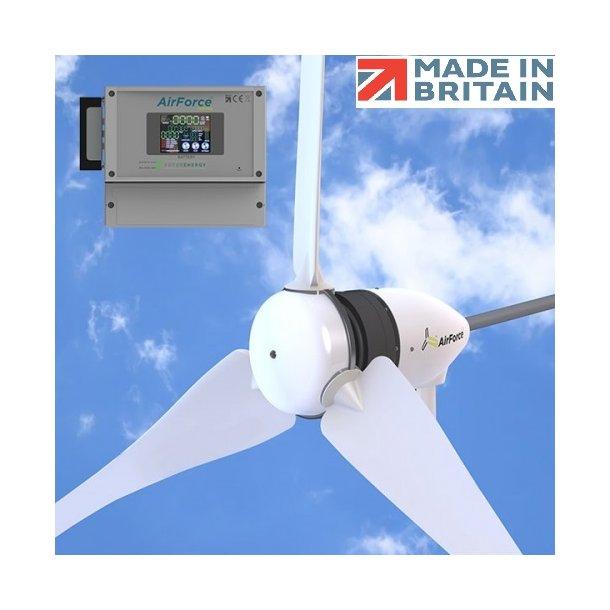 Vindmølle på 1100 watt (1.1 KW) 24 eller 48 volt.