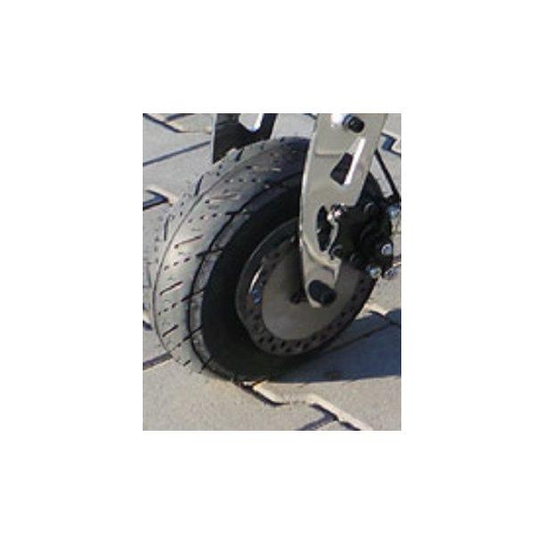 dæk & slange + fælge til løbehjul 90/65- 6.5