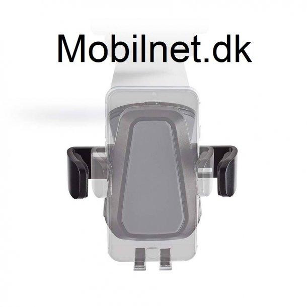 Trådløs biloplader 2.0 A - 10 W Med automatisk lukning i sort