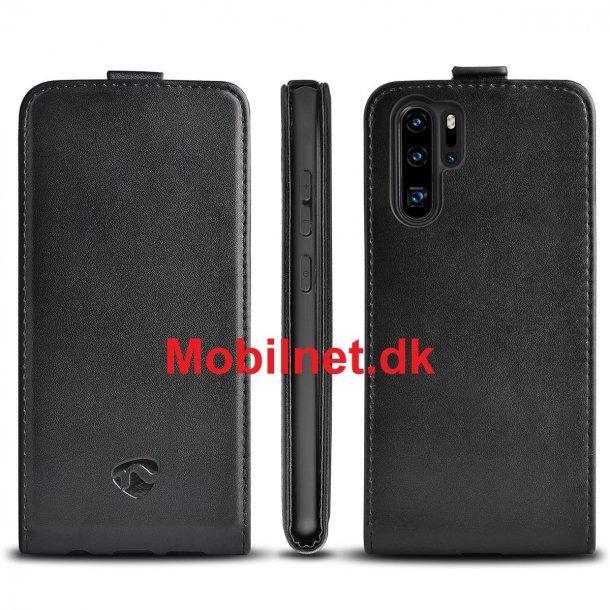 Cover til Huawei p30 Pro i Sort - Gel-vippeetui