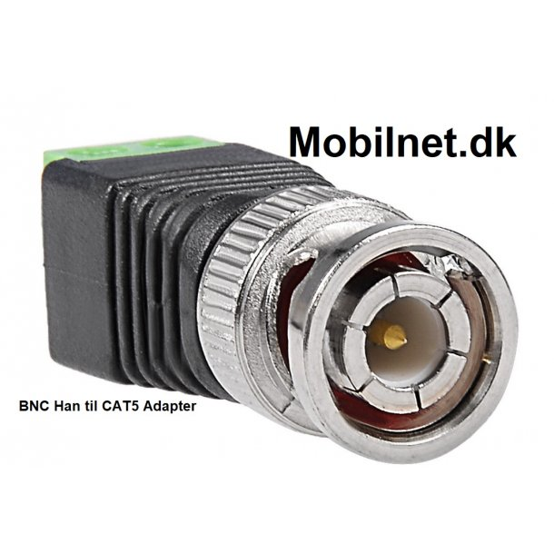 Coax CAT5 To Coaxial BNC Camera CCTV Video Balun Cable Connector Adapter