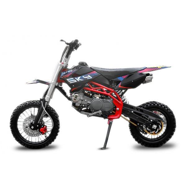 Ny Crosser 125cc Sky Dirtbike  14 ''/ 12''.